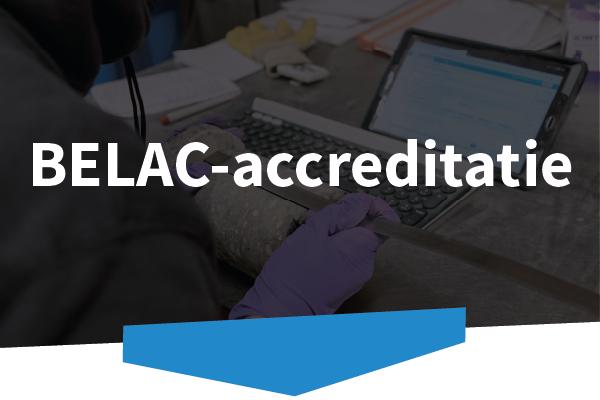 Disoma | Over ons | BELAC-accreditatie